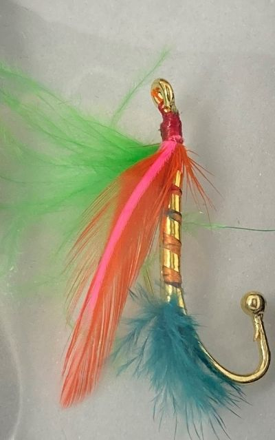 Fly Tied Brooches
