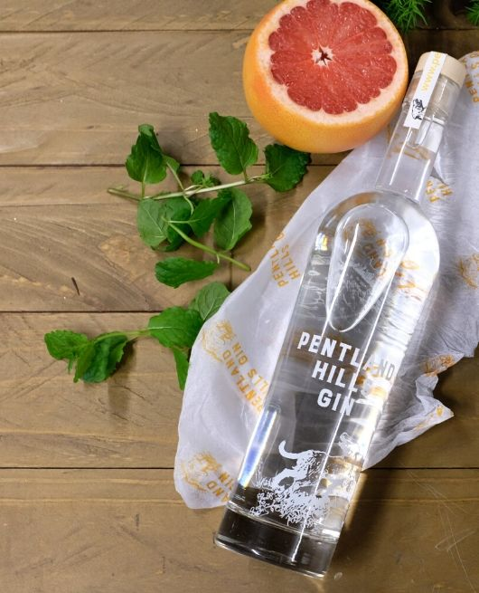 Our Gin Bottle, Mint and Grapefruit - Pentland Hills Gin