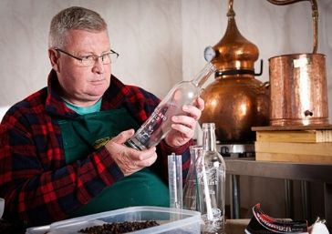 Phil In The Distillery - Pentland Hills Gin
