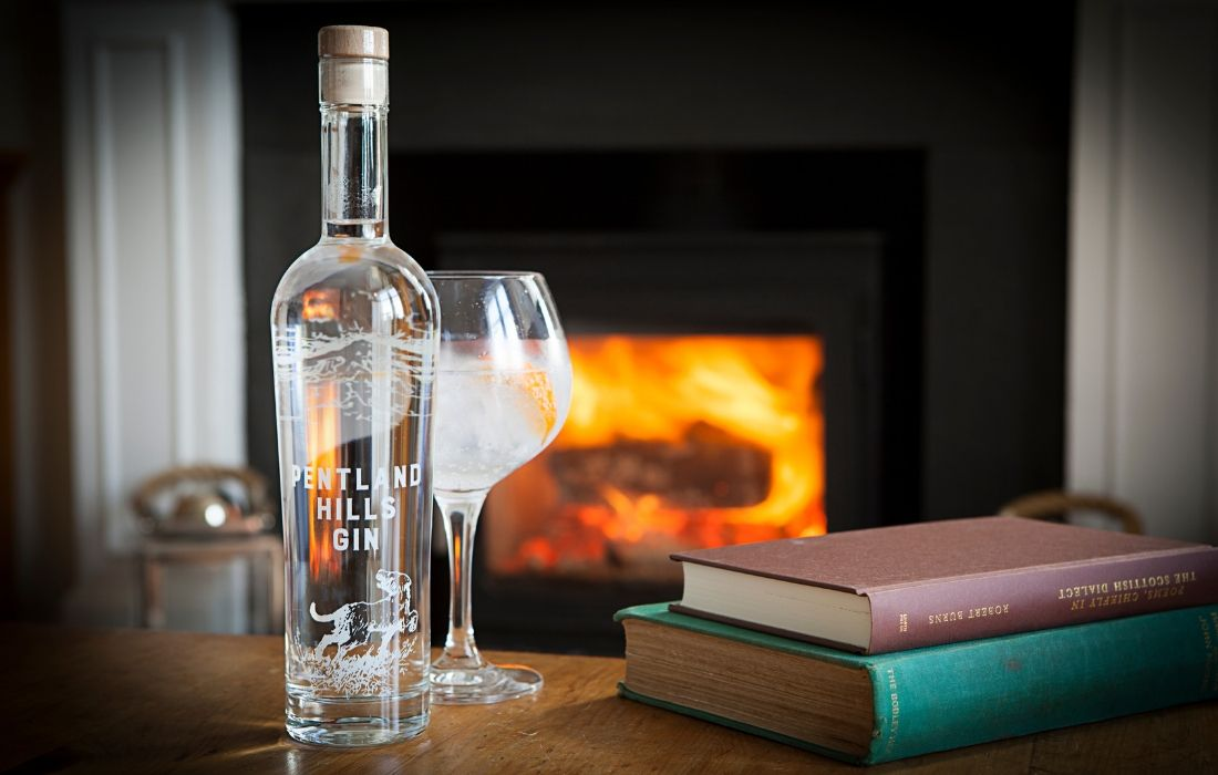 50cl Pentland Hills Bottle By The Fire